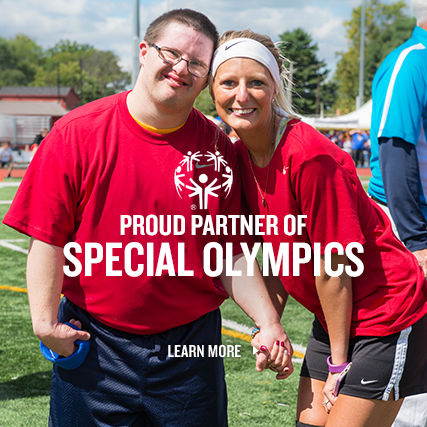 Finish Line Youth Foundation Special Olympics Partnership