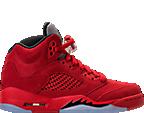 Boys' Grade School Air Jordan Retro 5 Basketball Shoes