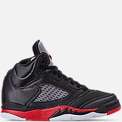 Little Kids' Air Jordan Retro 5 Basketball Shoes