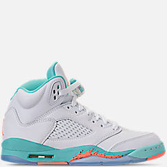Kids' Grade School Air Jordan Retro 5 (3.5y-9.5y) Basketball Shoes