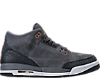 Girls' Grade School Air Jordan Retro 3 (3.5y - 9.5y) Basketball Shoes