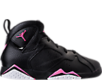 Girls' Preschool Jordan Retro 7 Basketball Shoes