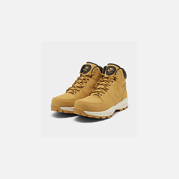 best sneakers 64169 6f638 Three Quarter view of Men s Nike Manoa Leather Boots in Haystack Velvet  Brown