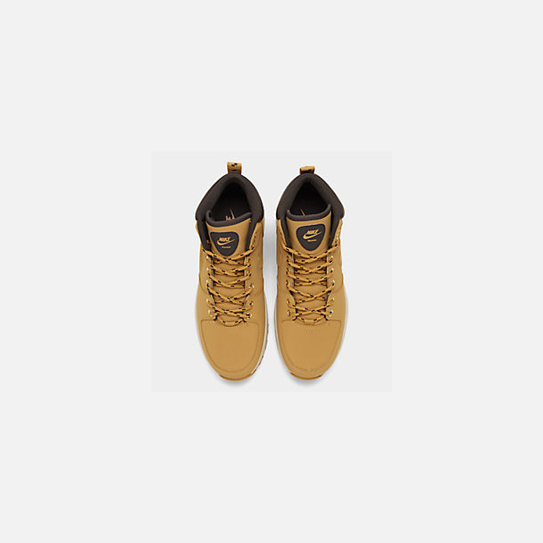buy online 4bb08 168cf Back view of Men s Nike Manoa Leather Boots in Haystack Velvet Brown