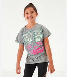 Girls' Jordan Stack Up Oversized T-Shirt
