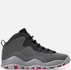 Girls' Big Kids' Air Jordan Retro 10 Basketball Shoes