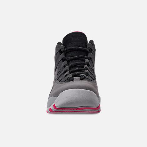 6e5b5950ba9829 Front view of Girls  Big Kids  Air Jordan Retro 10 Basketball Shoes in Dark