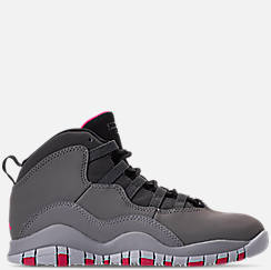 Girls' Little Kids' Jordan Retro 10 Basketball Shoes