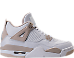 Girls' Grade School Air Jordan Retro 4 (3.5y-9.5y) Basketball Shoes