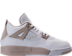 Girls' Preschool Jordan Retro 4 Basketball Shoes