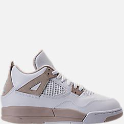 Kids' Preschool Jordan Retro 4 Basketball Shoes