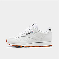 finest selection b3adf 09283 Men s Reebok Classic Leather Gum Casual Shoes
