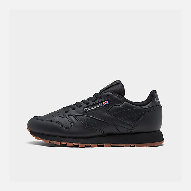 Right view of Men's Reebok Classic Leather Gum Casual Shoes