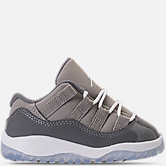Kids' Toddler Air Jordan Retro 11 Low Basketball Shoes