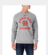 Men's Under Armour Maryland Terrapins College Tri-Blend Crew Sweatshirt