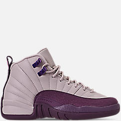 9cc0e687eff5e7 Girls  Big Kids  Air Jordan Retro 12 Basketball Shoes