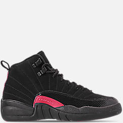 Girls' Big Kids' Air Jordan Retro 12 Basketball Shoes
