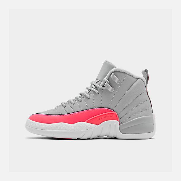 new product 2aa4c 312cb Girls' Big Kids' Air Jordan Retro 12 Basketball Shoes