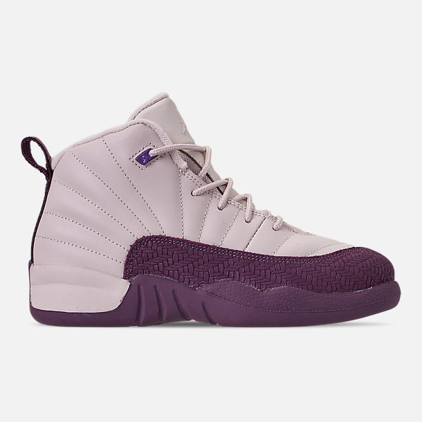 newest 1085d 53283 Right view of Girls  Little Kids  Air Jordan Retro 12 Basketball Shoes in  Desert