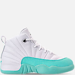 bb025b7f016 Girls  Little Kids  Air Jordan Retro 12 Basketball Shoes