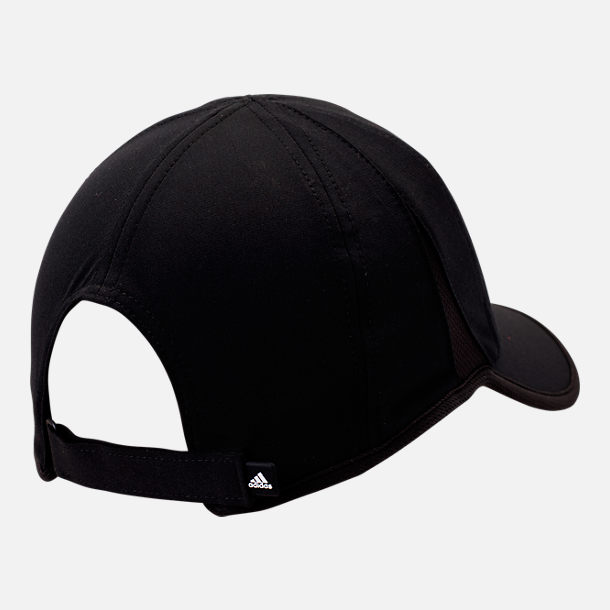 Back view of Men's adidas SuperLite Performance Adjustable Hat in Black