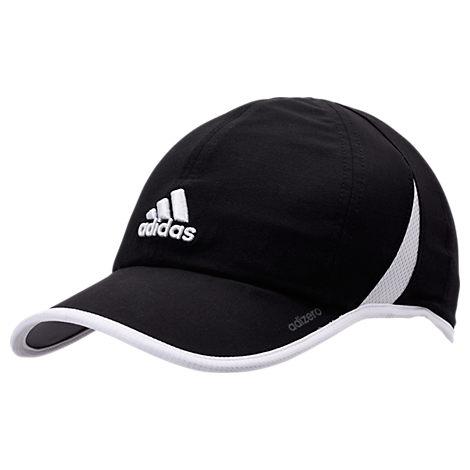 Adidas Originals  WOMEN'S ADIZERO SUPERLITE PERFORATED HAT, BLACK