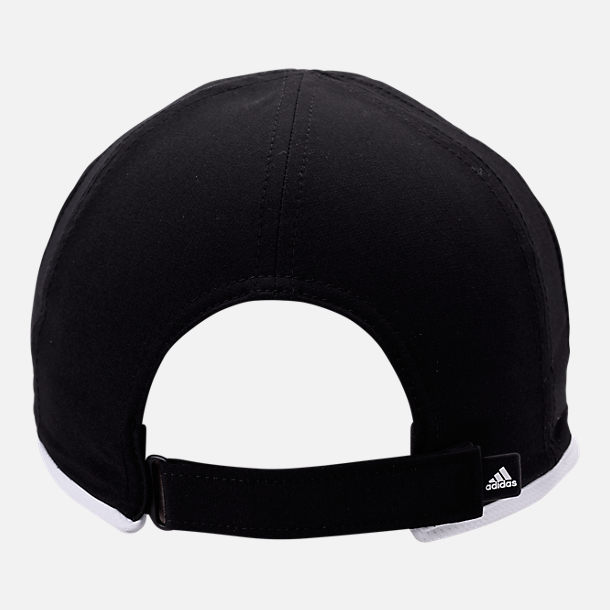 Alternate view of Women's adidas adiZero Superlite Perforated Hat in Black/Ash Pearl