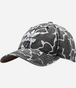 adidas Originals Precurved Washed Strapback Hat