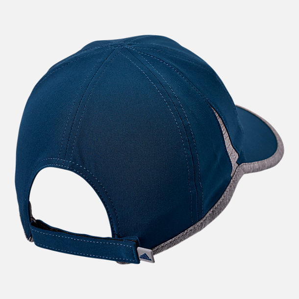 Alternate view of adidas Superlite Adjustable Back Hat in Legend Marine