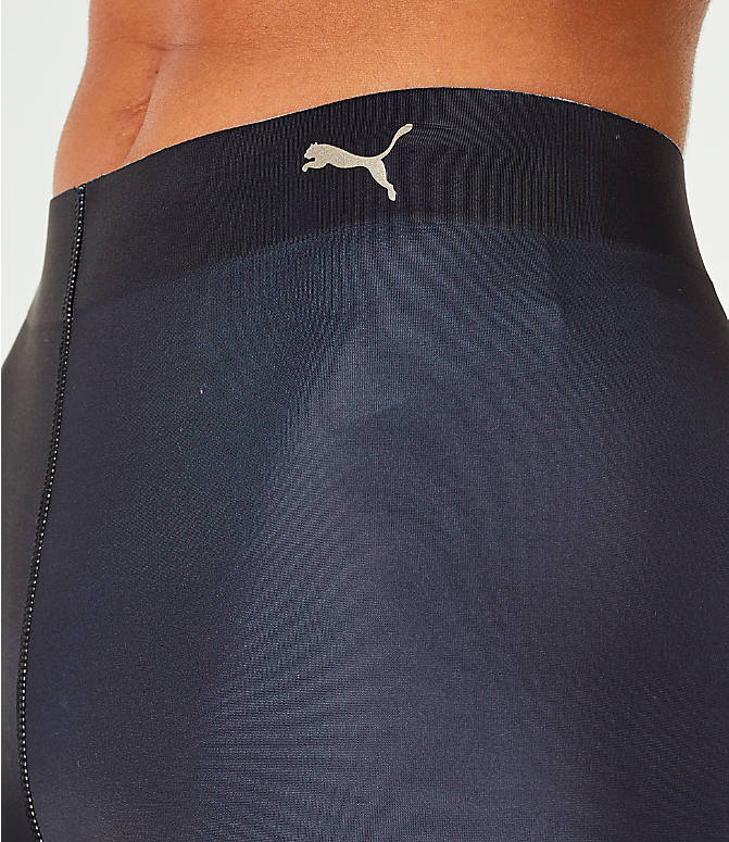 Detail 1 view of Women's Puma Varsity Tights in Black/Gold