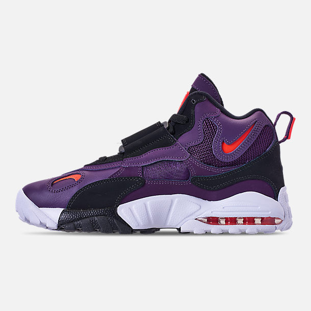 sneakers for cheap a1a24 883d1 ... buy left view of mens nike air max speed turf training shoes in night  purple bright