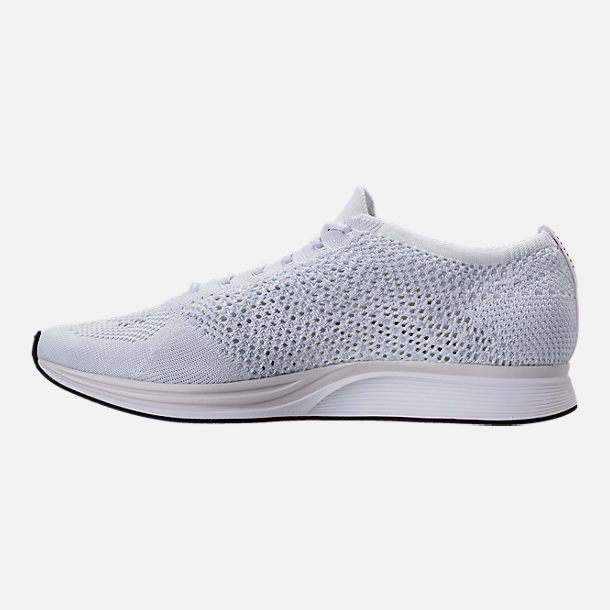 Left view of Unisex Nike Flyknit Racer Running Shoes
