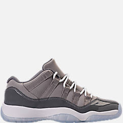 Kids' Grade School Air Jordan Retro 11 Low Basketball Shoes