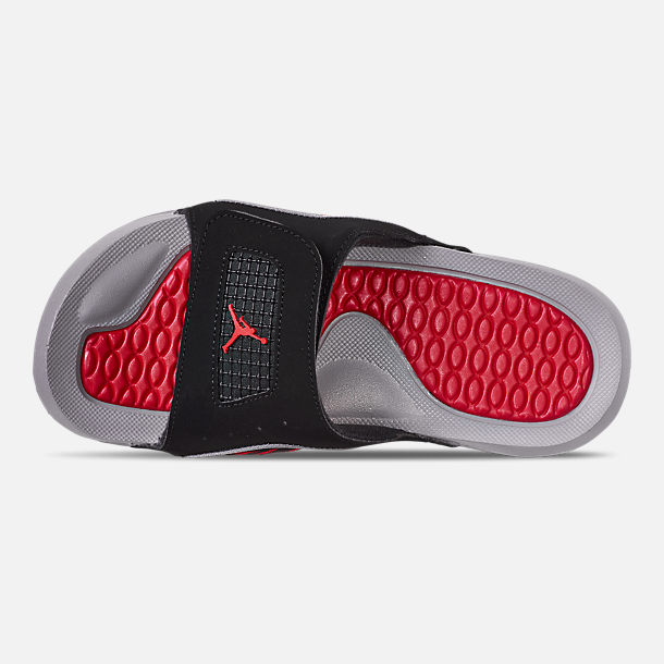 c52d1915b618dc Top view of Boys  Big Kids  Jordan Hydro 4 Retro Slide Sandals in Black