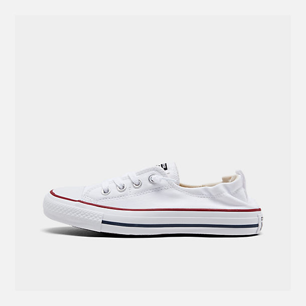 Right view of Women's Converse Chuck Taylor All Star Shoreline Casual Shoes in White