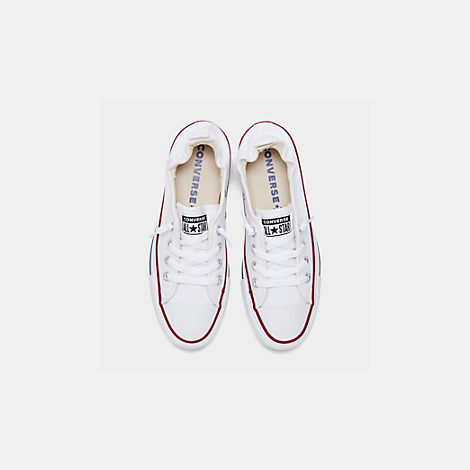 8dbe318f0ee Back view of Women s Converse Chuck Taylor All Star Shoreline Casual Shoes  in White