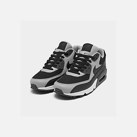 Three Quarter view of Men's Nike Air Max 90 Essential Casual Shoes