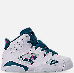 4ed5f061b Girls  Little Kids  Air Jordan Retro 6 Basketball Shoes