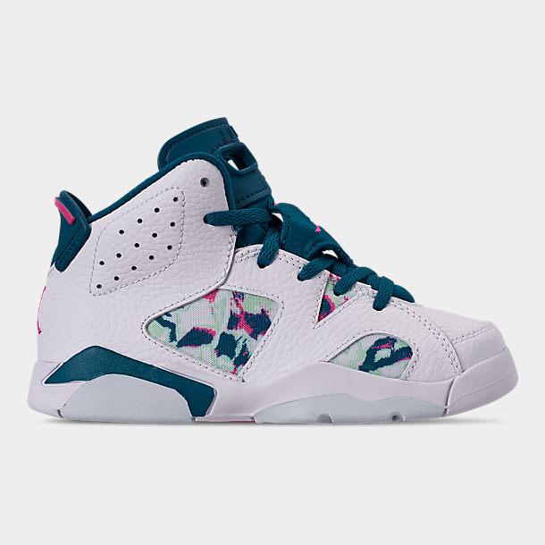 pretty cheap discount shop los angeles Girls' Little Kids' Air Jordan Retro 6 Basketball Shoes