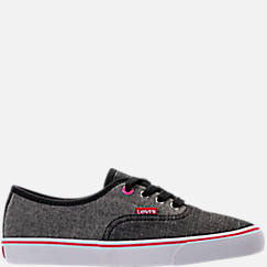 Girls' Preschool Levi's Monterey Chambray 2 Tone Casual Shoes