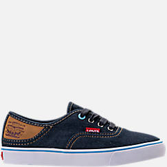 Boys' Preschool Levi's Monterey Denim Buck Casual Shoes