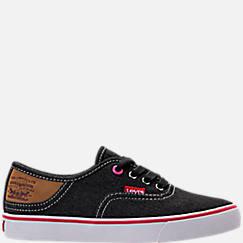Girls' Preschool Levi's Monterey Denim Buck Casual Shoes