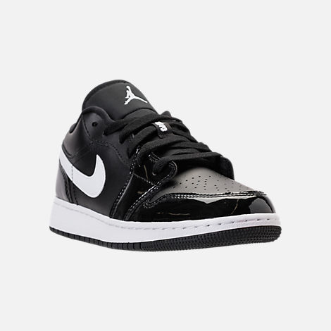 Kids' Grade School Air Jordan 1 Low Basketball Shoes by Nike
