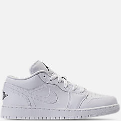 Big Kids' Air Jordan 1 Low Basketball Shoes