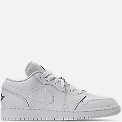 Kids' Grade School Air Jordan 1 Low Basketball Shoes