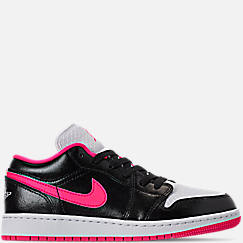 Girls' Big Kids' Air Jordan 1 Low (3.5y - 9.5y) Casual Shoes