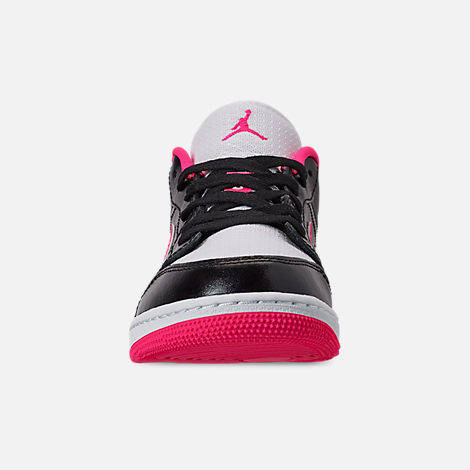 size 40 aa500 089a6 Front view of Girls  Big Kids  Air Jordan 1 Low (3.5y -