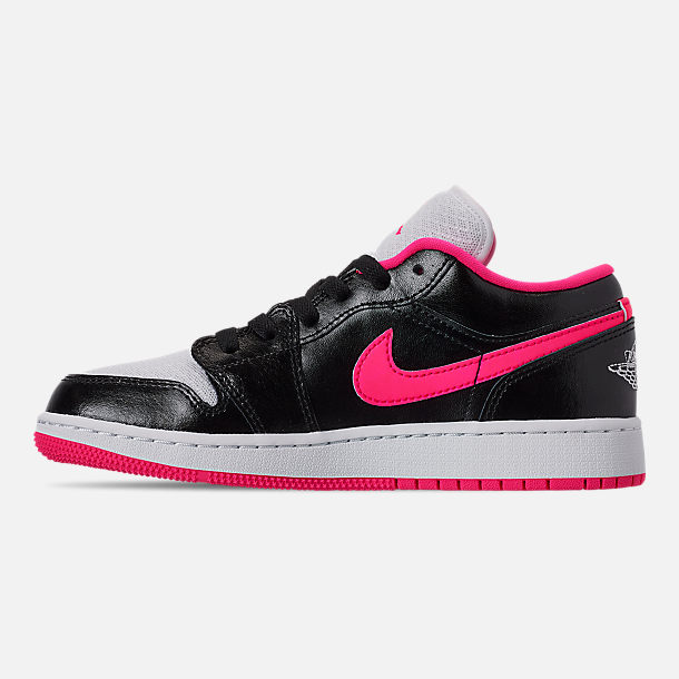 the best attitude 36560 1fa1a Left view of Girls  Big Kids  Air Jordan 1 Low (3.5y -
