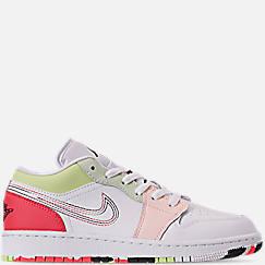 Girls' Big Kids' Air Jordan 1 Low (3.5y - 9.5y) Casual Shoes