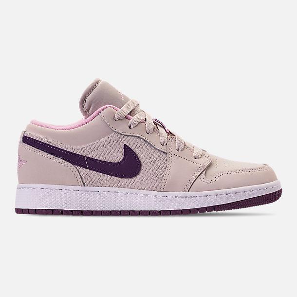 591d30cfb5c9fb Girls  Big Kids  Air Jordan 1 Low (3.5y - 9.5y) Casual Shoes